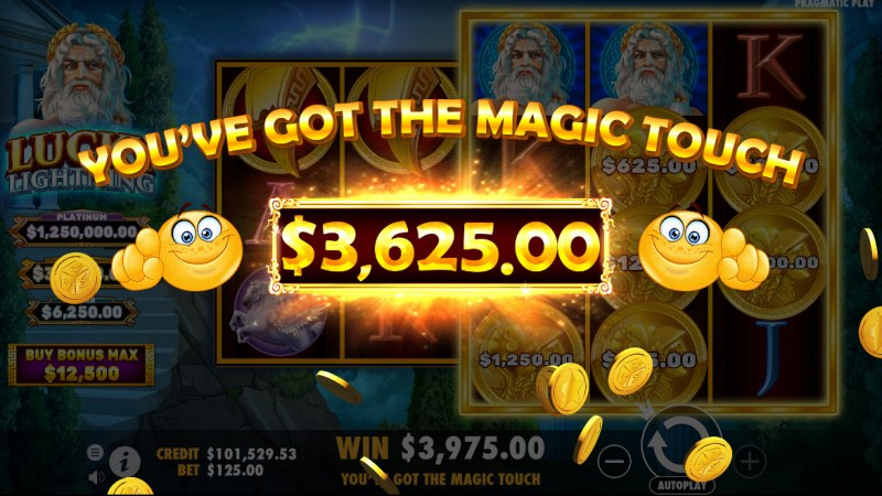 Lucky Lightning :: Total Feature Payout