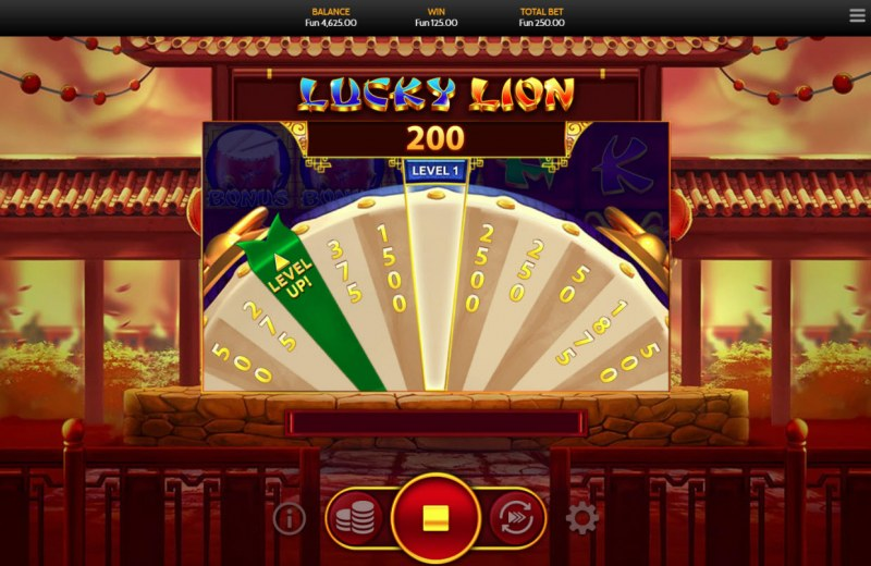 Lucky Lion :: An X200 prize awarded