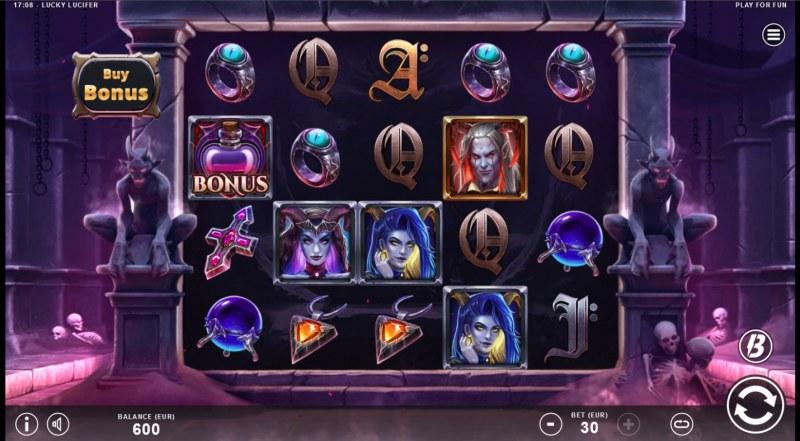 Lucky Lucifer :: Main Game Board