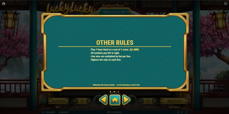 Lucky Lucky :: General Game Rules