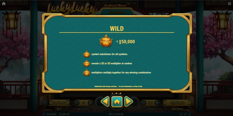 Lucky Lucky :: Wild Symbol Rules