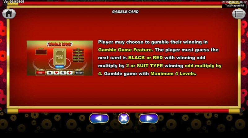 Lucky Meow :: Gamble Feature Rules