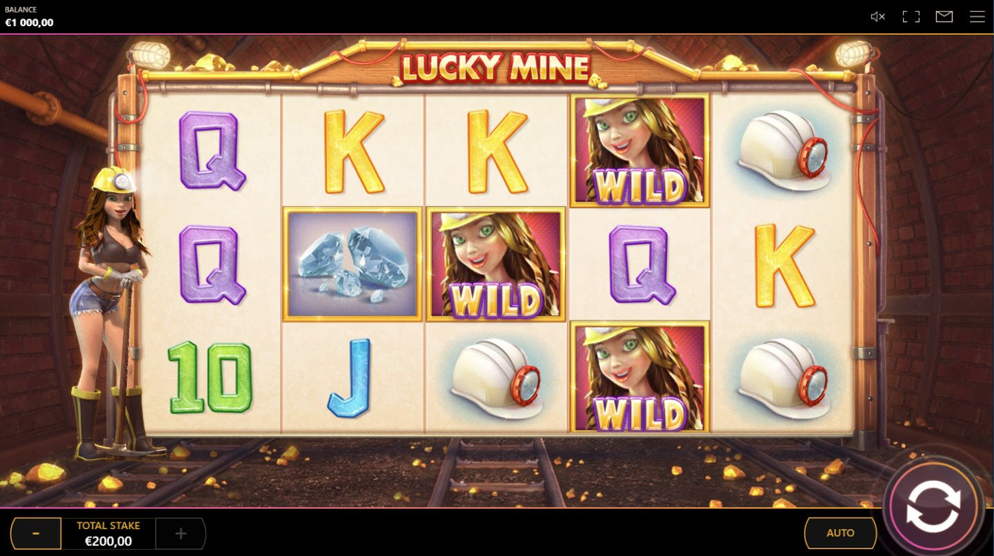 Play slots at betmaster: betmaster featuring the Video Slots Lucky Mine with a maximum payout of $20,000