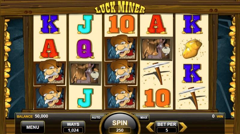 Lucky Miner :: Main Game Board