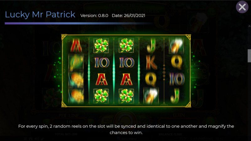 Lucky Mr. Patrick :: Synced Reels