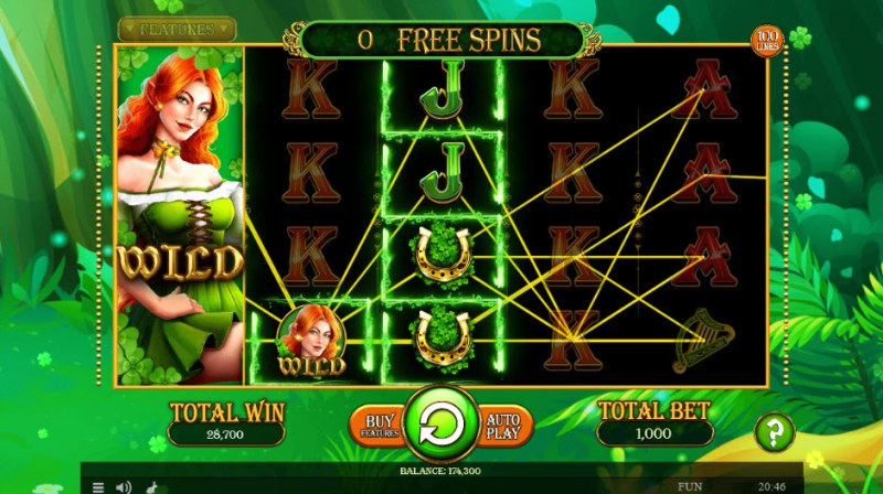 Lucky Mrs. Patrick :: A three of a kind win