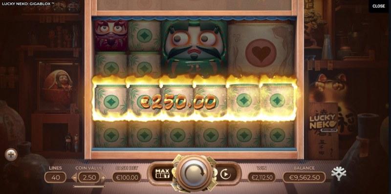 Lucky Neko Gigablox :: Five of a kind