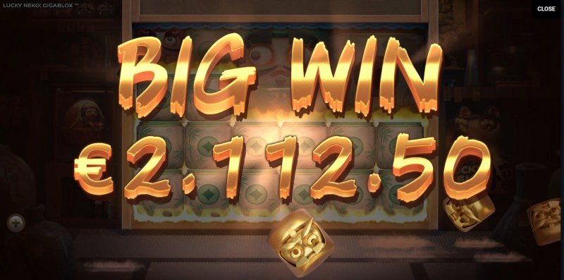 Lucky Neko Gigablox :: Big Win