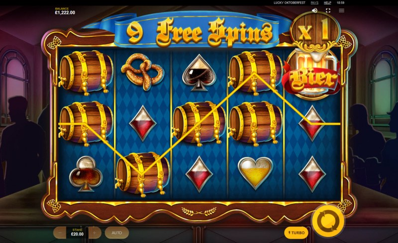 Lucky Oktoberfest :: Free Spins Game Board
