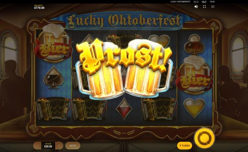 Lucky Oktoberfest :: Beer Feature triggered