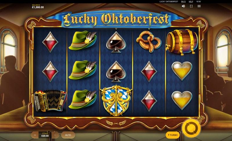 Lucky Oktoberfest :: Main Game Board