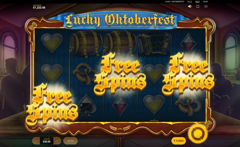 Lucky Oktoberfest :: Scatter symbols triggers the free spins feature