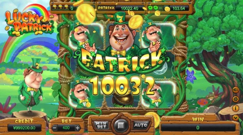 Lucky Patrick :: Patrick jackpot awarded