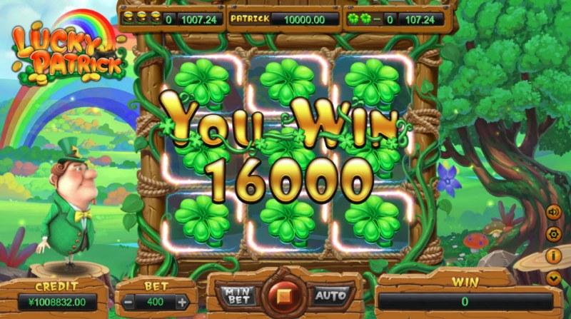 Lucky Patrick :: Big Win