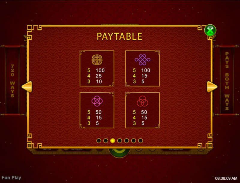 Lucky Rat :: Paytable - Low Value Symbols