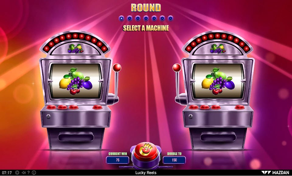 Lucky Reels :: Gamble Feature Game Board