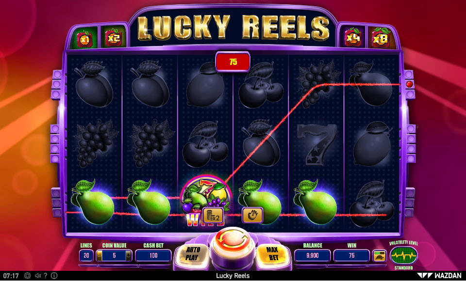 Lucky Reels :: Four of a kind