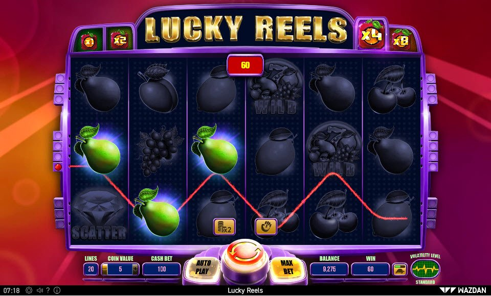 Lucky Reels :: Three of a kind