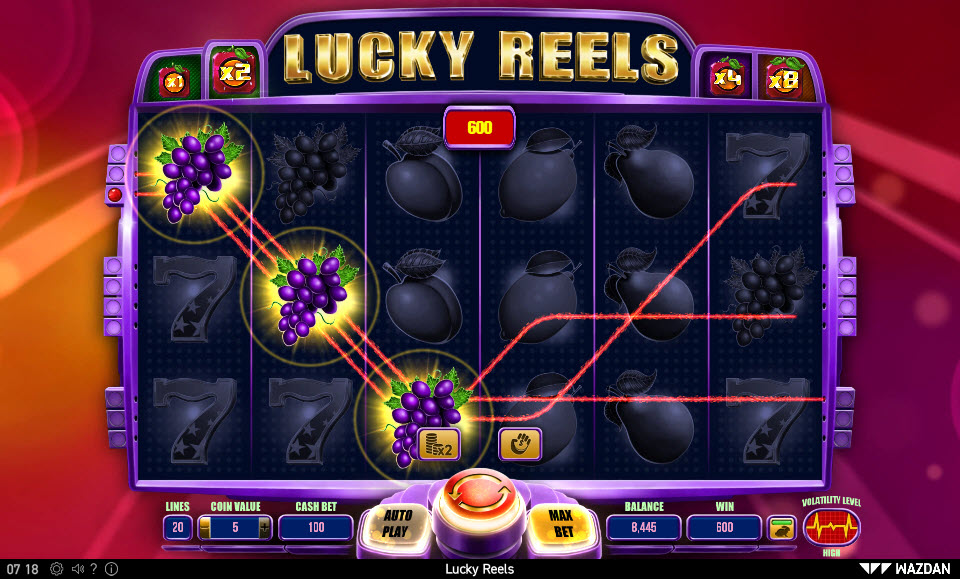 Lucky Reels :: Multiple winning combinations