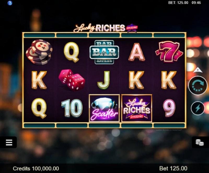 Play slots at Golden Tiger: Golden Tiger featuring the Video Slots Lucky Riches Hyperspins with a maximum payout of $20,000