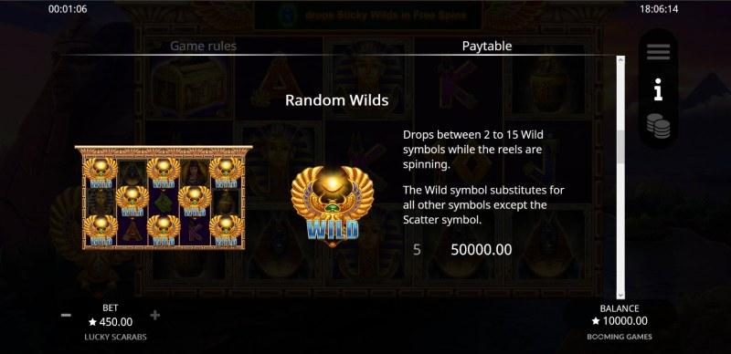 Lucky Scarabs :: Random WIld