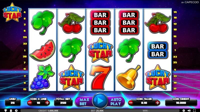 Lucky Star :: Main Game Board