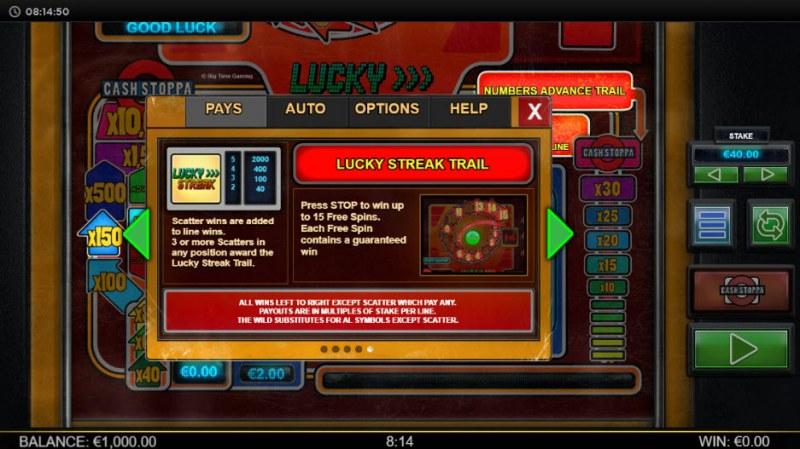 Lucky Streak Mk2 :: Lucky Streak Trail