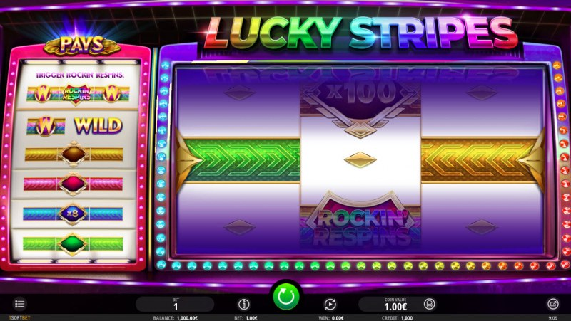 Lucky Stripes :: Main Game Board