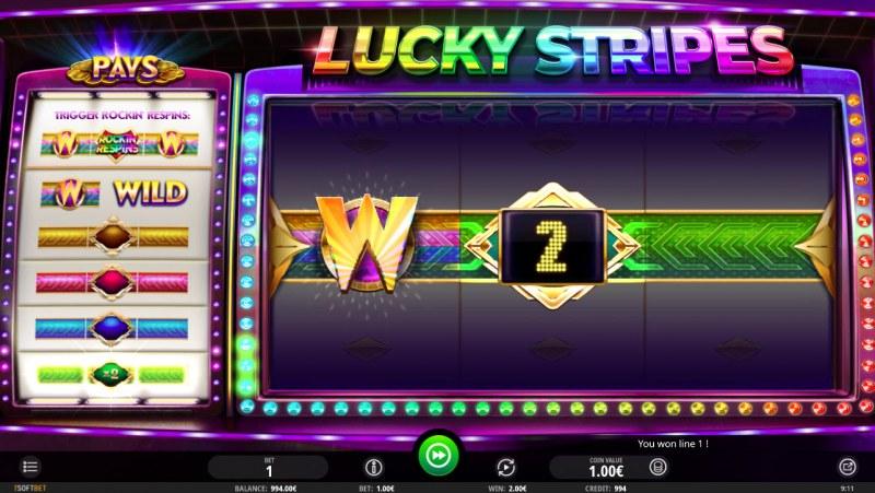 Lucky Stripes :: A winning combination
