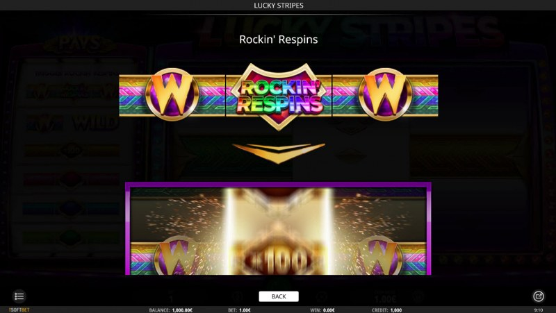 Lucky Stripes :: Rockin Respins Rules