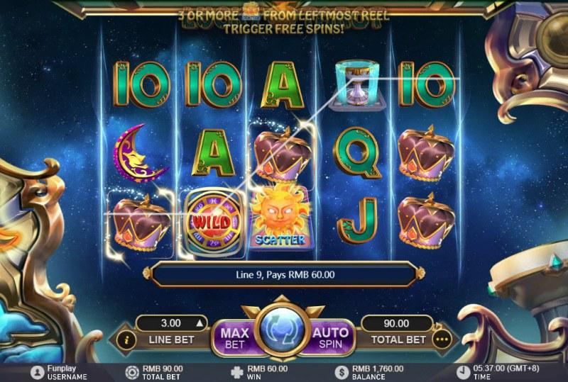 Lucky Tarot :: Three of a kind