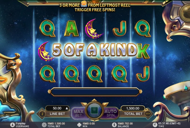Lucky Tarot :: Five of a kind