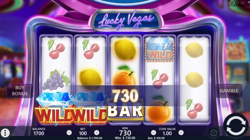 Lucky Vegas :: Four of a kind