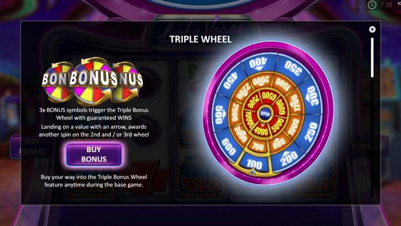 Lucky Vegas :: Bonus Game Rules