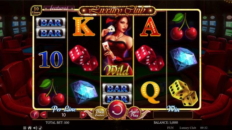 Luxury Club :: Base Game Screen