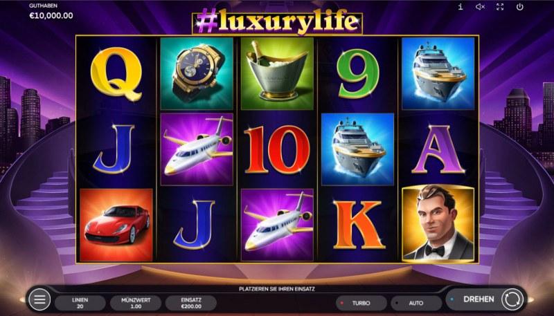 #luxurylife :: Base Game Screen