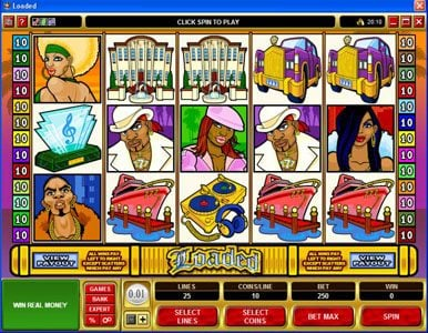 Play slots at Ladbrokes: Ladbrokes featuring the Video Slots Loaded with a maximum payout of $420,000