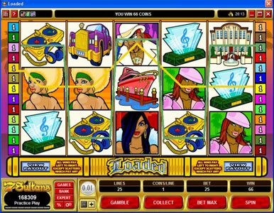 Play slots at 7 Gods Casino: 7 Gods Casino featuring the Video Slots Loaded with a maximum payout of $420,000