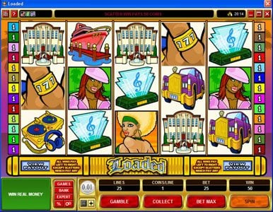 Winward featuring the Video Slots Loaded with a maximum payout of $420,000