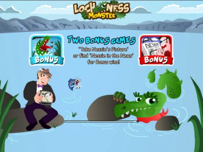 Play slots at Win Monaco: Win Monaco featuring the Video Slots Loch Ness Monster with a maximum payout of $100,000