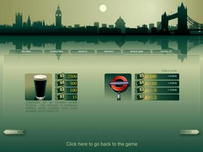 Long Harbour featuring the Video Slots London with a maximum payout of $5,000