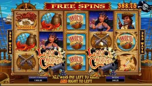 Play slots at Players Palace: Players Palace featuring the Video Slots Loose Cannon with a maximum payout of $300,000