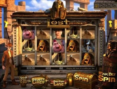 Play slots at BetOnline: BetOnline featuring the Video Slots Lost with a maximum payout of $7,500