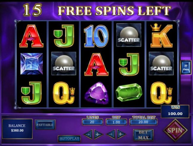 21 Dukes featuring the Video Slots Lost Gems of Brussels with a maximum payout of $45,000