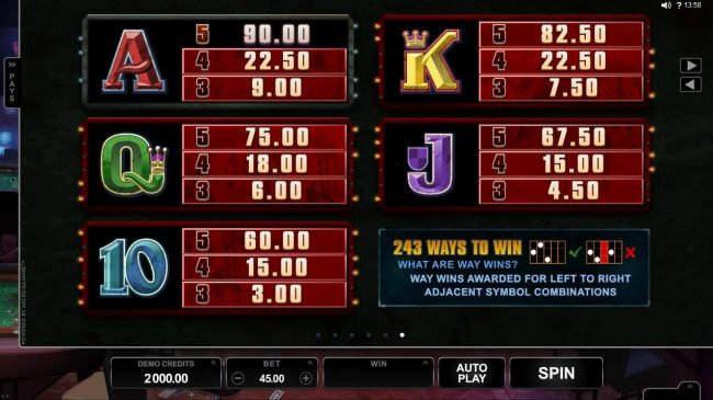Fortune Junction featuring the Video Slots Lost Vegas with a maximum payout of $97,000