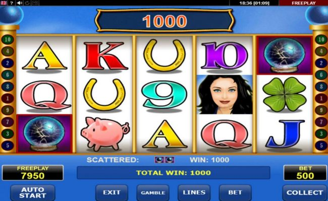Yoyo featuring the Video Slots Lovely Lady with a maximum payout of $45,000