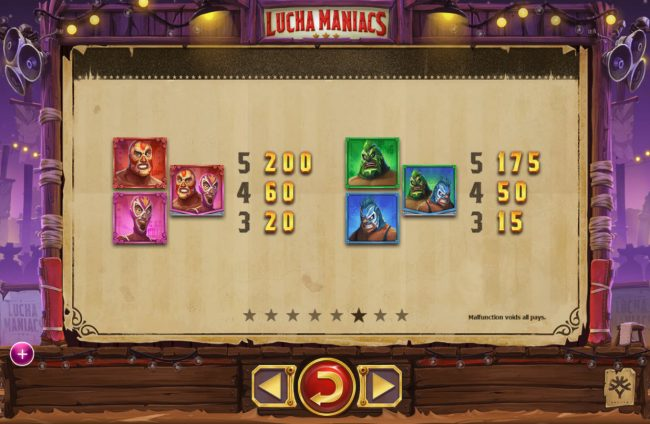 Play slots at Instacasino: Instacasino featuring the Video Slots Lucha Maniacs with a maximum payout of $60,000