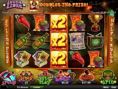 Dreams featuring the Video Slots Lucha Libre with a maximum payout of $250,000