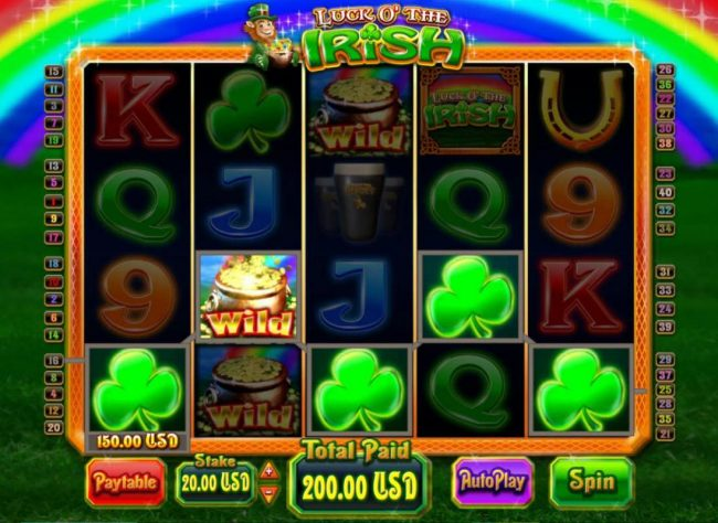 Luck O' the Irish :: A winning Five of a Kind.