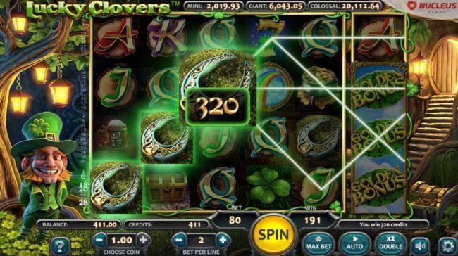 Lucky Clovers :: A winning Three of a Kind